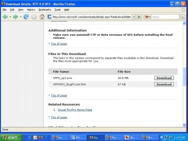 Microsoft Visual FoxPro 9 0 Download (Free trial) - vfp9 exe