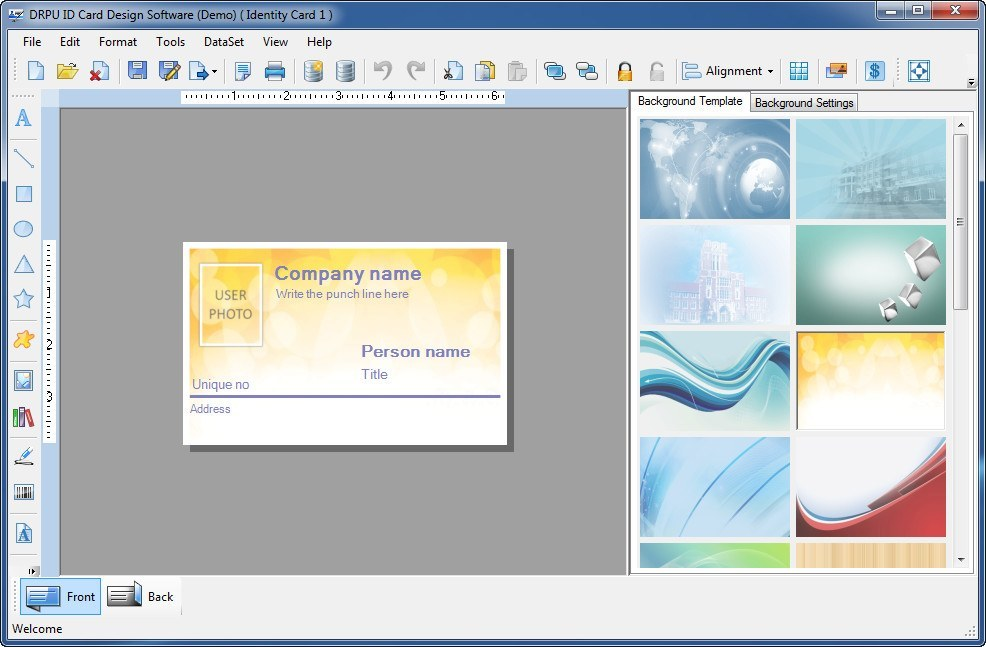 best id card design software free download full version