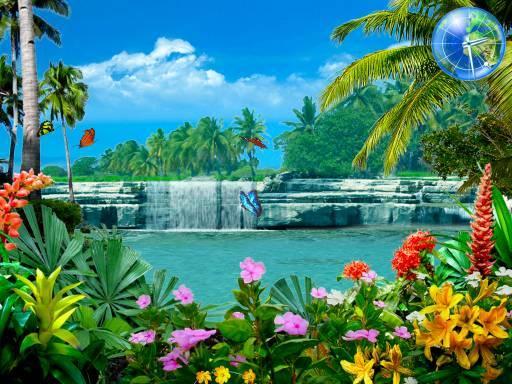 free waterfall screensaver download for windows xp