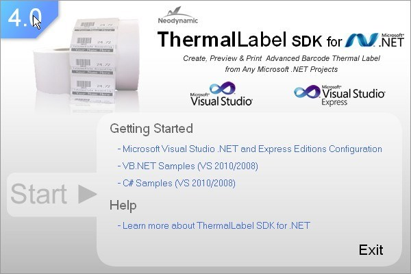 Neodynamic ThermalLabel SDK Download - It provides  NET label design