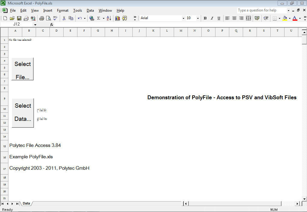 Polytec File Access Download