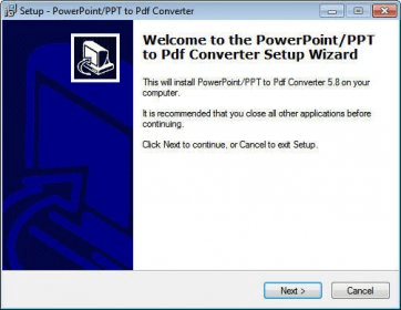 powerpoint ppt to pdf converter converter exe 無料でダウンロード