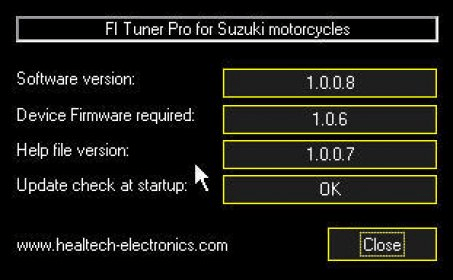 FI Tuner Pro for Suzuki Download Free Version (FI Tuner Pro exe)