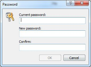 Changing Access Password