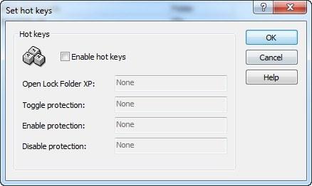 Assigning Hotkeys
