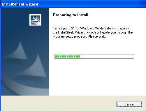 Install TerraSync