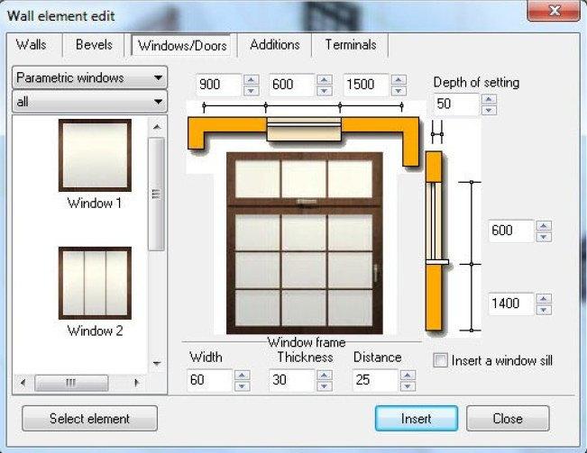 Edit Window
