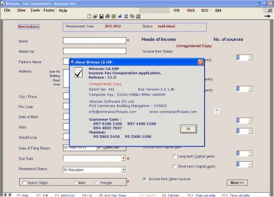 Winman CA ERP 12 3 Download (Free trial) - WinTax exe