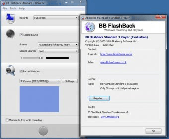 BB FlashBack Download - Record your PC screen with sound to