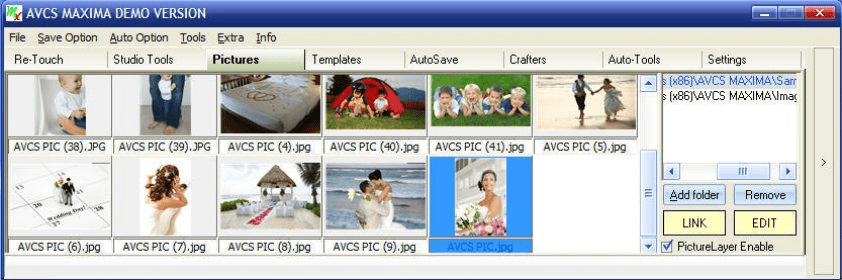 avcs maxima automatic album designing software free download