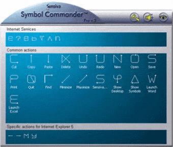 sensiva symbol commander pro