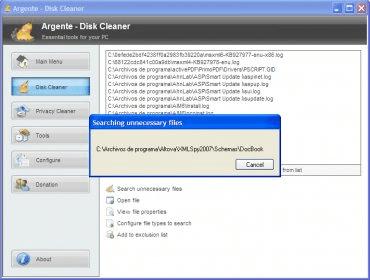 argente disk cleaner 1.2.0.3.