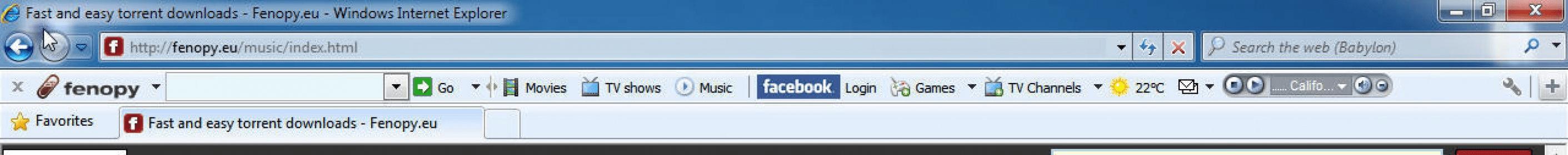 Fenopy – torrents.