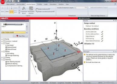 PROFIS Anchor - Software Informer  Hilti PROFIS Anchor