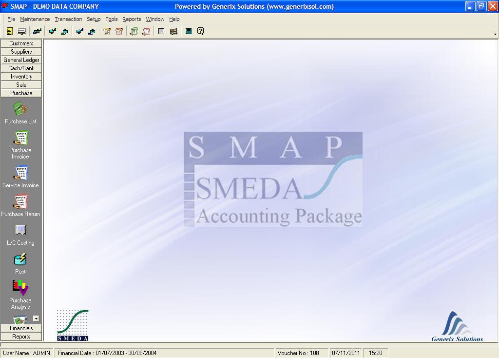 smeda accounting software
