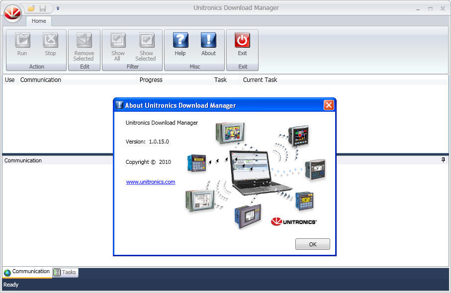 Unitronics Download Manager - Download Manager enables you