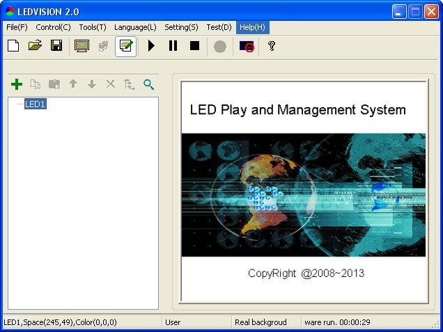 LEDVISION 2 0 Download (Free) - LEDVISION exe