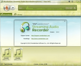 wondershare streaming audio recorder 2.0.0