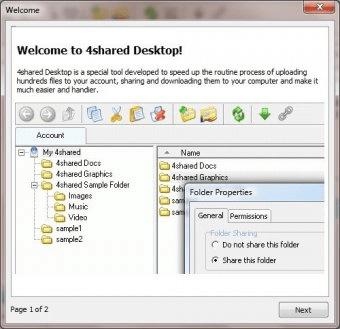 4shared Desktop 4.0 Download (Free) - desktop.exe