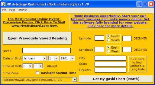 Mb Free Astrology Rashi Chart North Download Free Version