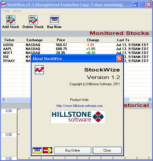 StockWize Download - Easy to use stock market monitoring