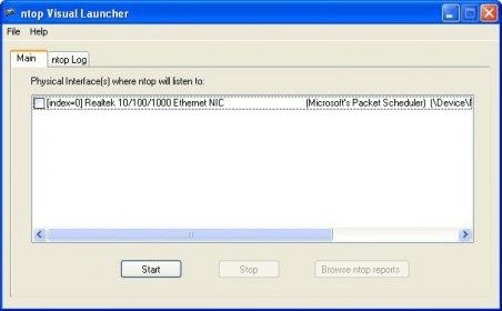 ntop for Win32 5 0 Download (Free) - ntopLauncher exe