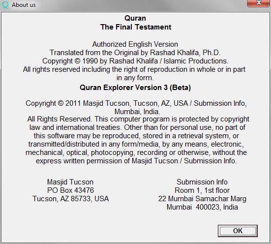 Quran Explorer 3 7 Download (Free) - QE exe