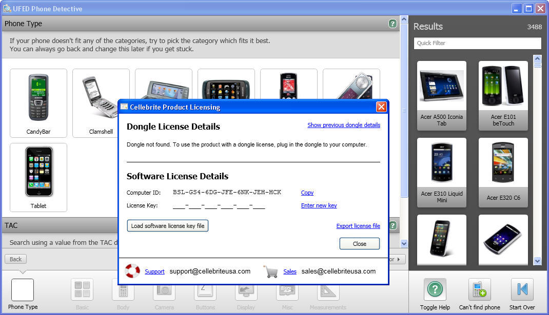 Cellebrite UFED Phone Detective 4 0 Download (Free trial