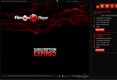 filmon hdi player 3.1 free download
