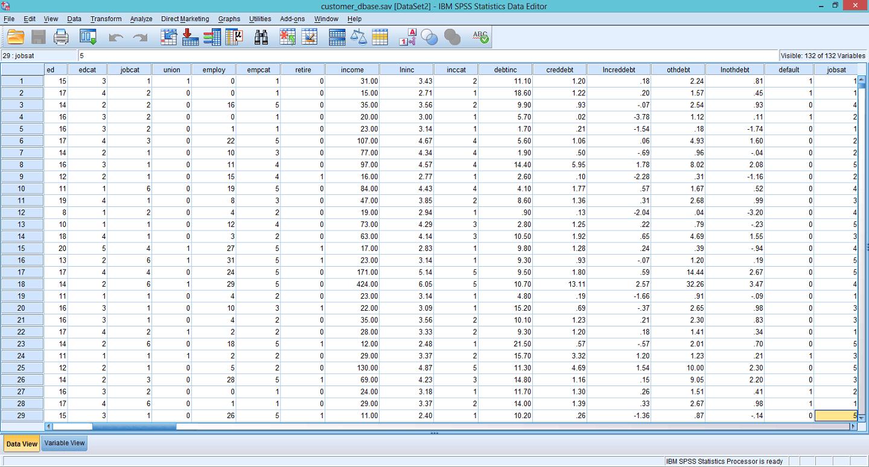 Customer Database 1