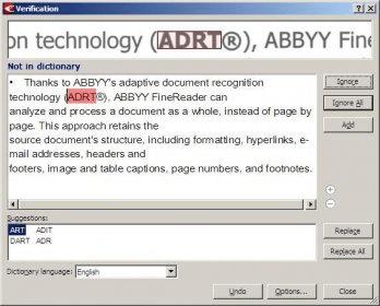 abbyy finereader 6.0 freeware
