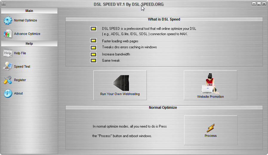 DSL Speed  Get the software safe and easy