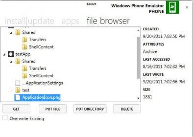 Windows Phone Power Tools 1 0 beta Download - PwTools exe