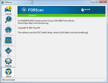 FORScan Download - Detects modules and runs specific tests