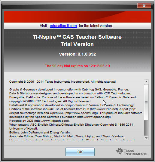 TI-Nspire™ CAS Teacher Software  Get the software safe and easy