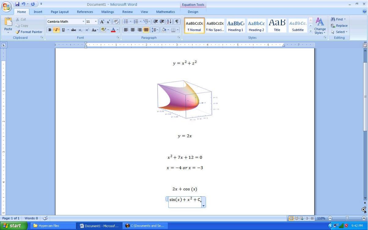 Microsoft Mathematics Download (MathApp exe)