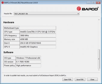 BAPCo SYSmark 2012 1 0 Download (Free trial) - SYSmark 2012 exe