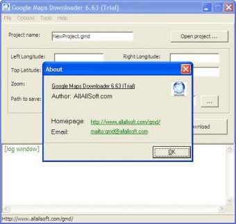 Google Maps Downloader 6 6 Download (Free trial) - gmd exe