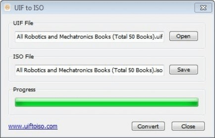 UIF to ISO 1 0 Download (Free) - uiftoiso exe