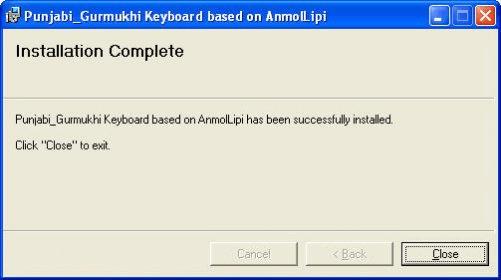 Punjabi-Gurmukhi Keyboard based on AnmolLipi Download