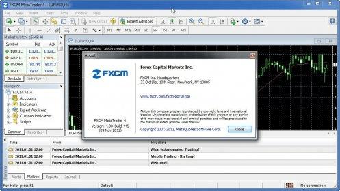 FXCM MetaTrader 4 0 Download (Free) - terminal exe