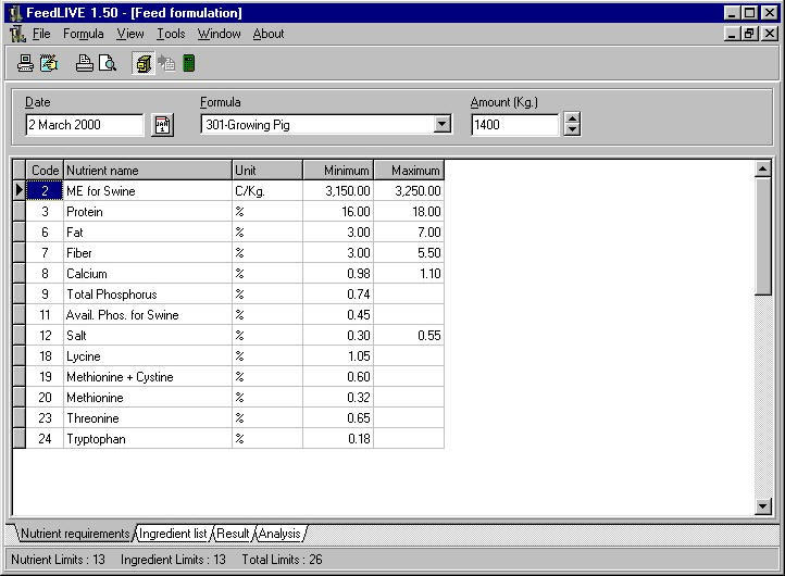 FeedLIVE Trial  Get the software safe and easy