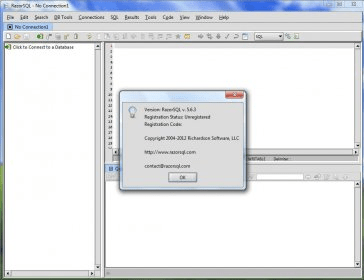 RazorSQL Download - SQL editor, database browser, SQL query tool