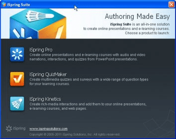 iSpring Suite 6 0 Download (Free trial) - ispringlauncher exe