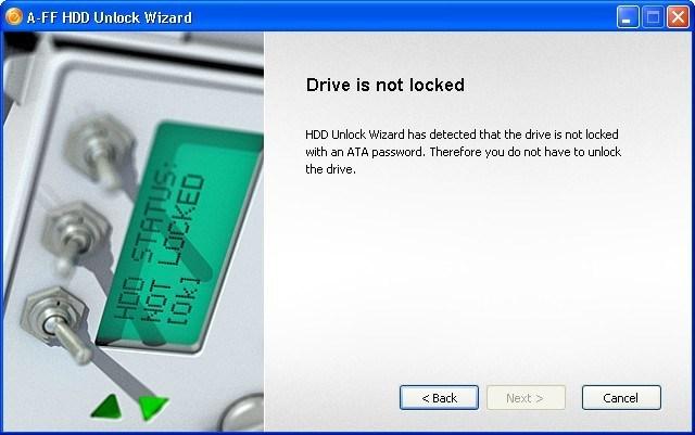 HDD Unlock Wizard 4 2 Download (Free) - HddUnlock exe
