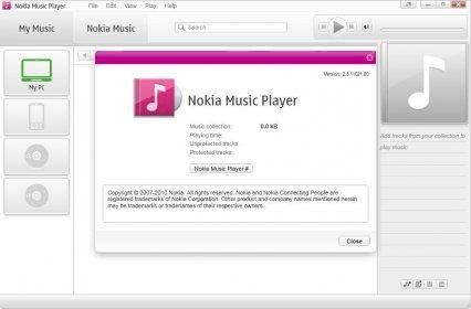 Nokia Music Player 2 5 Download (Free) - NokiaMusicPlayer exe