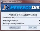 Fragmentation Report