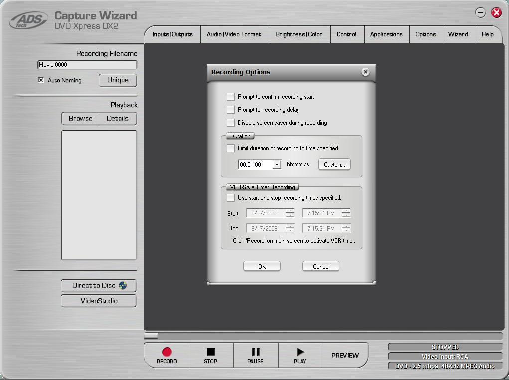 ads tech dvd xpress capwiz 3.8