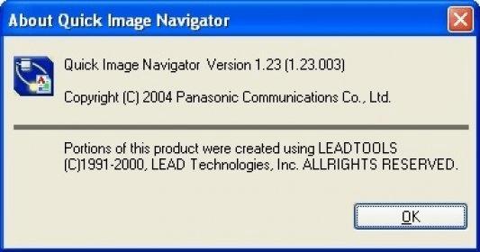 Panasonic Quick Image Navigator 1 0 Download - QNavi exe