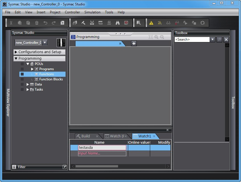Sysmac Studio 1 1 Download (Free trial) - SysmacStudioLauncher exe